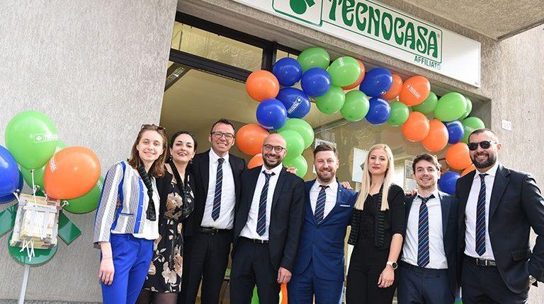 Inaugurazione dell'ufficio Tecnocasa di Trescore Balnerario