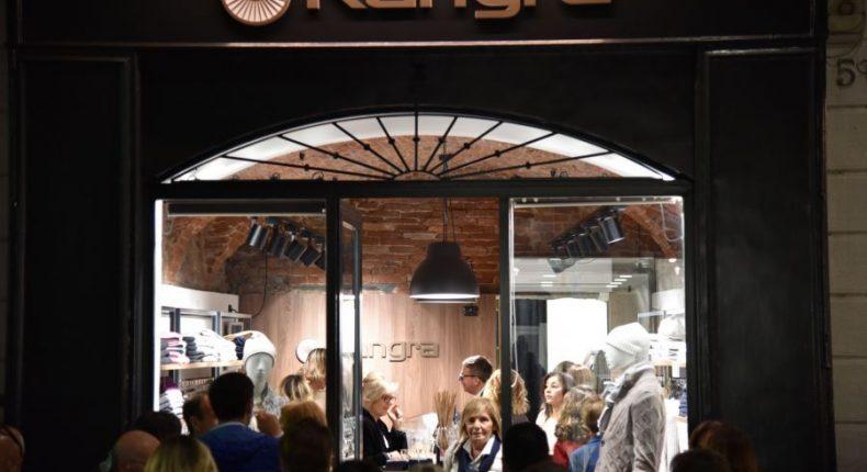 Kangra Cashmere apre l'ottavo store in Italia a Bergamo