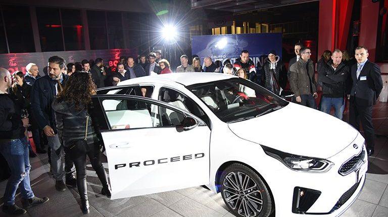 Autotorino: anteprima 'pirotecnica' per la nuova Kia ProCeed