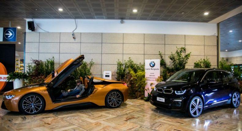 Le BMWi8 Roadster e BMWi3 alla 4^ edizione di Elettricittà