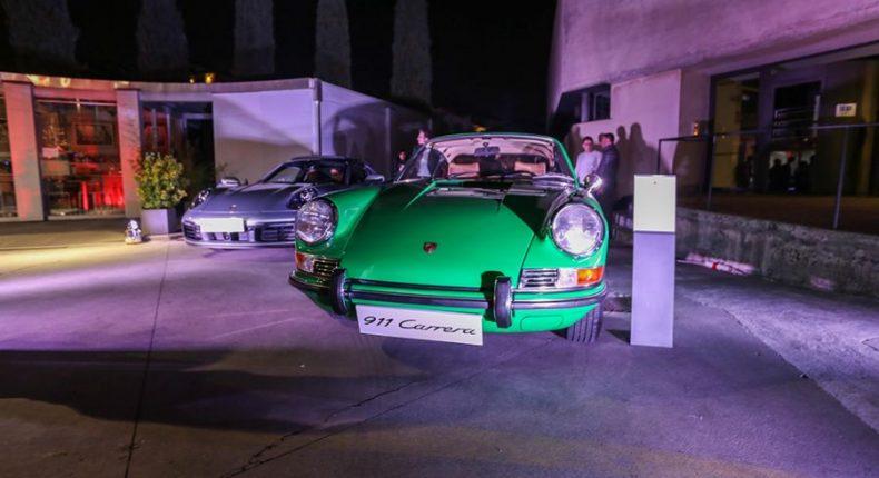 Il Centro Porsche Bergamo presenta la nuova Porsche 911 in GAMeC