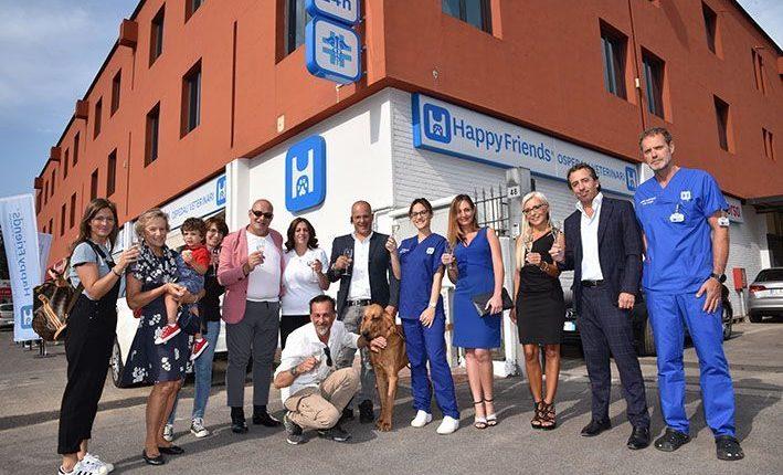 Happy Friends inaugura a Brescia un nuovo ospedale veterinario