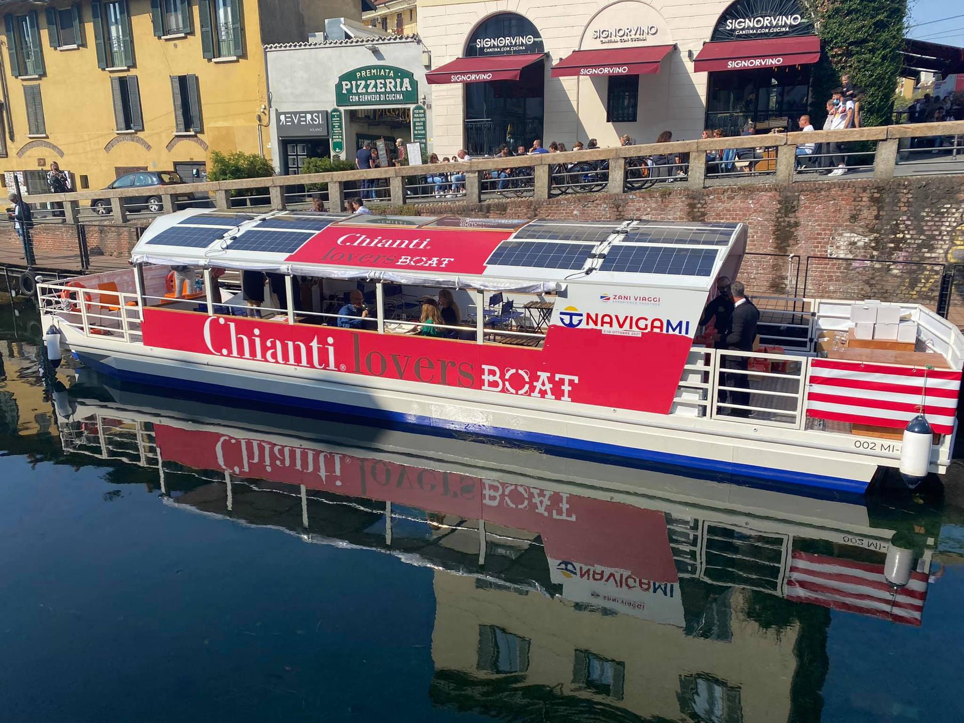 Chianti Lovers Boat